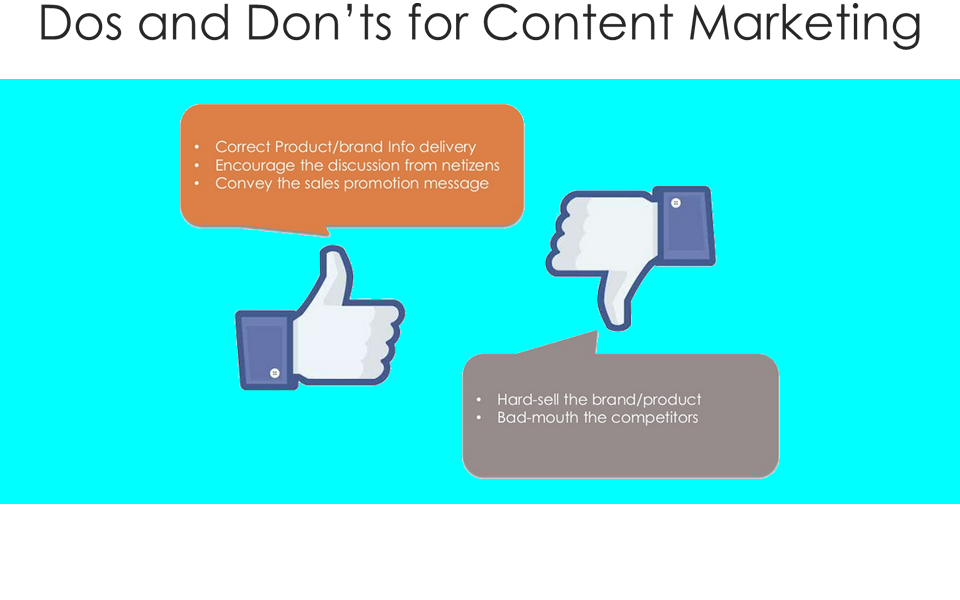 Content Marketing - Dos & Don'ts